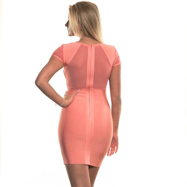 Kleid rosa rot