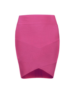 Bandage Bodycon Rock Mini pink