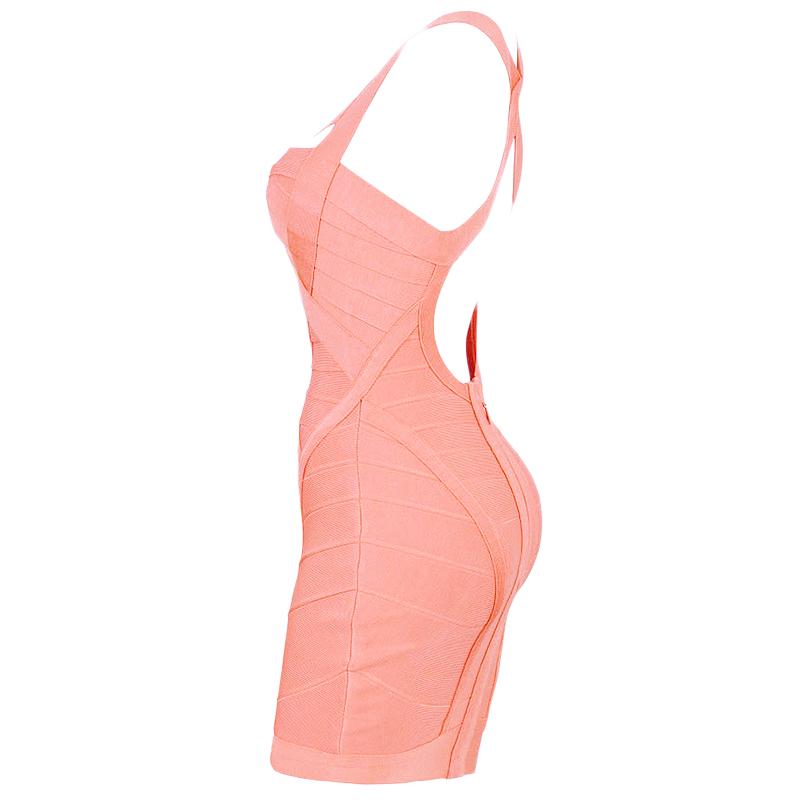 4f743b8447b4 Bandage Kleid koralle – noomi