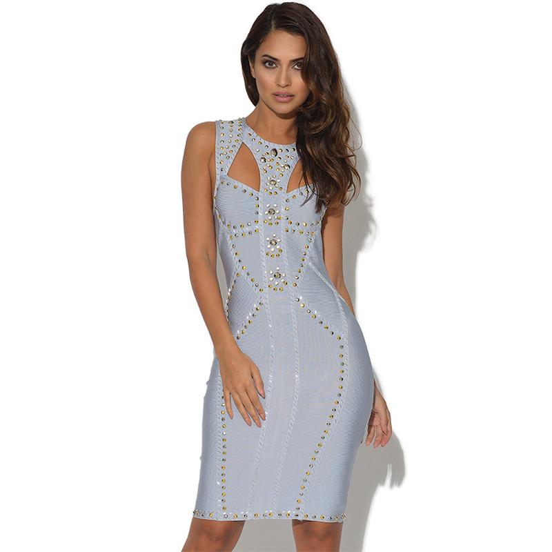 c5ba7304aa12 Sale · Bandage Kleid hellblau S