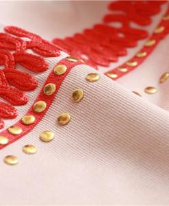 Bandage Bodycon Kleid multicolor