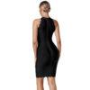 Bandage Kleid schwarz