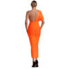 Bandage Kleid orange