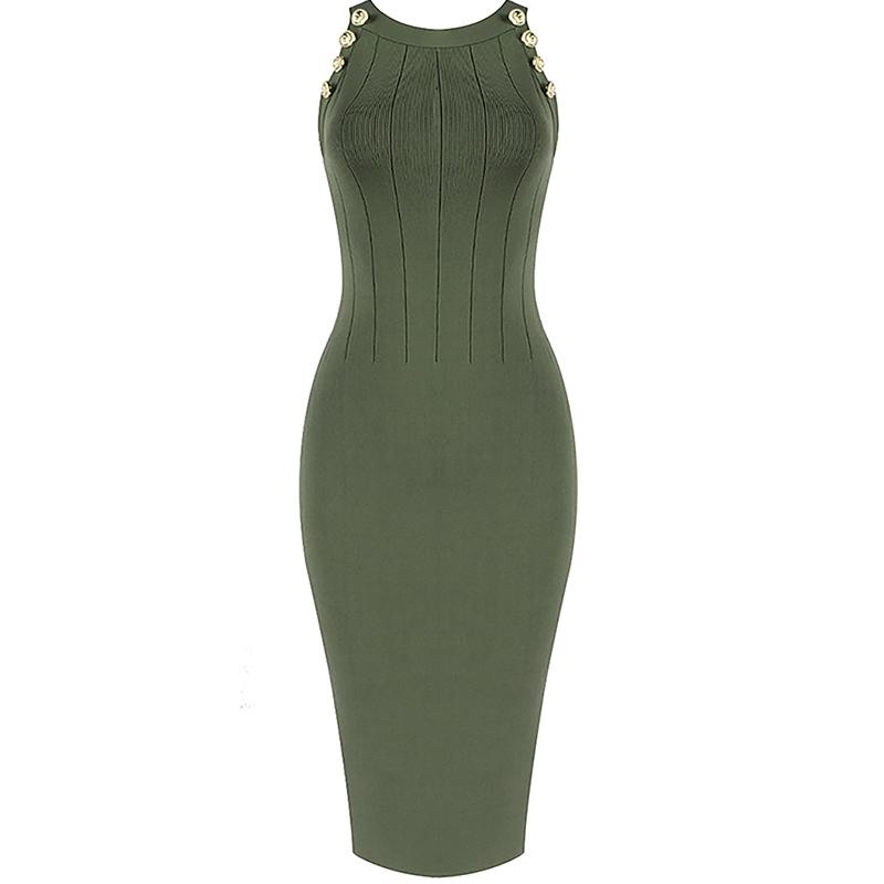 Bandage Kleid grün