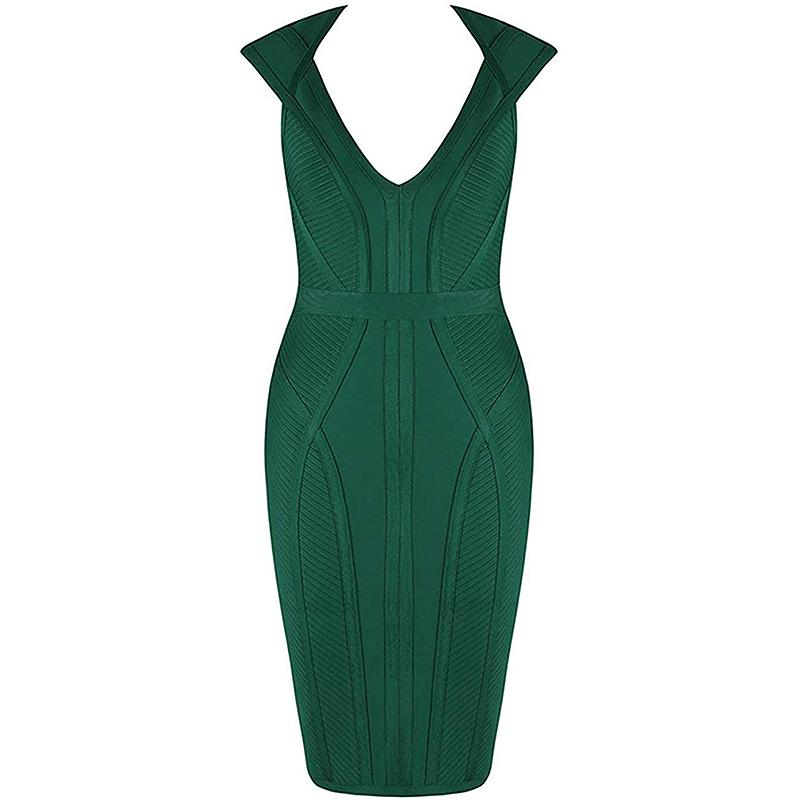 Kleid grün