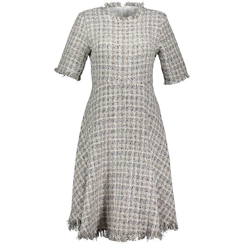 Kleid Midi Bouclé